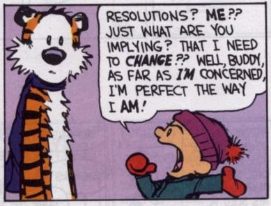 Calvin on resolutions