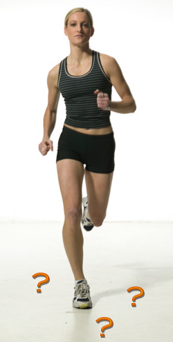 Stabilization during running