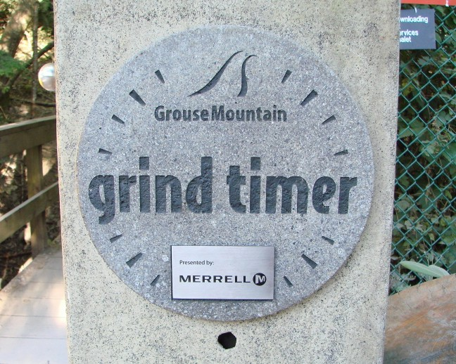 Grouse Grind, Grouse Mountain Grind, the Grind, Vancouver, BC, Hike, Exercise Timer, Merrell