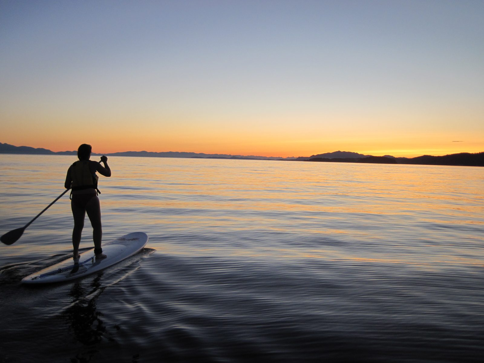 Stand Up Paddleboarding, Sunset, English Bay, Paddle boarding, Vancouver, Le Physique Personal Training