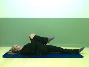 Supine hip flexor, beginners, le physique personal training