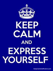 express yourself, stress management, fitness, health, love