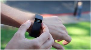Fitbit, fitness tracker, pedometer, watch
