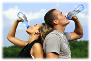 Stay hydrated to prevent muscle cramps caused by water loss